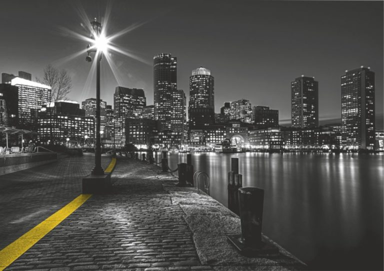 Foto behang City by  Night FTS1317