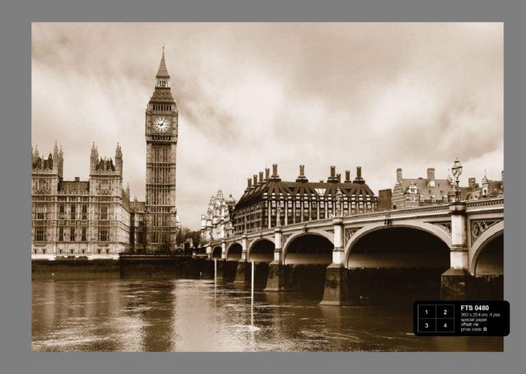 Foto behang Londen FTS0480