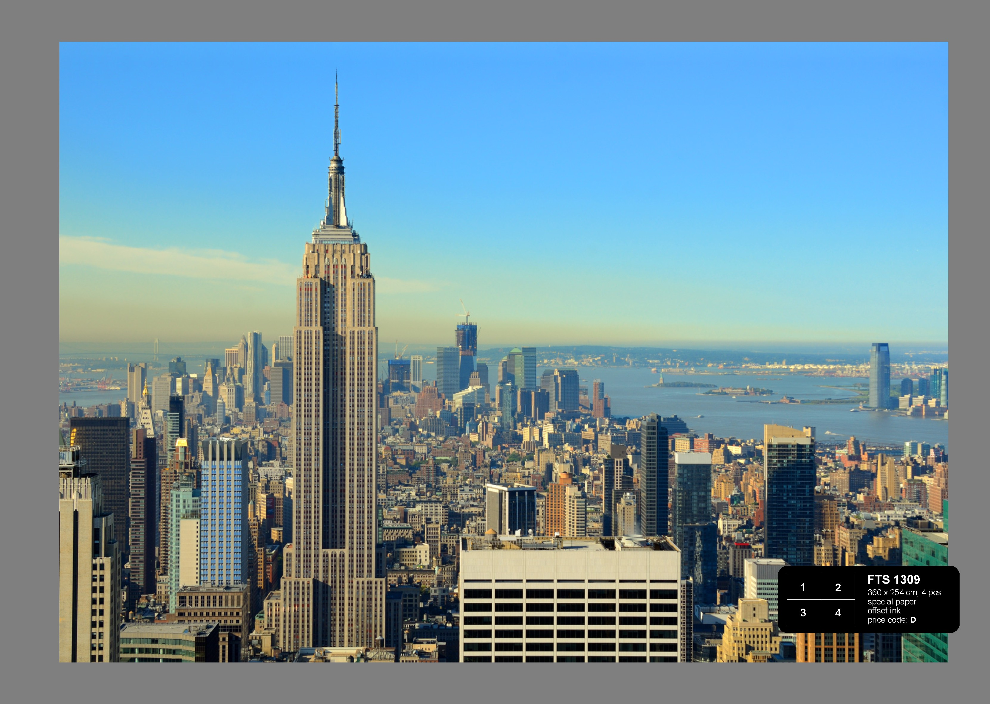 Foto Behang New York.Foto Behang Manhattan New York Fts1309 Behanggigant