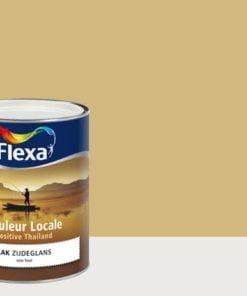 Flexa lakverf zijdeglans Positive Ginger 7075