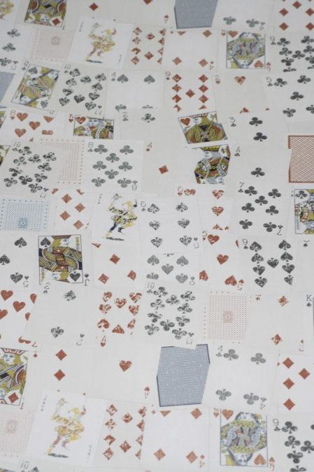 Papier behang W10MCARD01 Noordwand