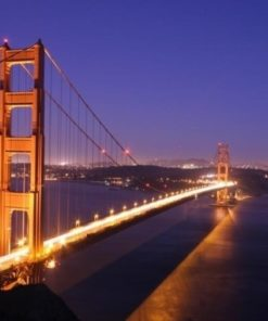 Foto behang Golden Gate Bridge 70003 Dutch Digiwall