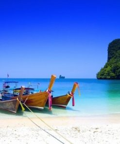 Foto behang Beach Thailand 70081 Dutch Digiwall