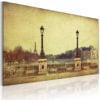 Schilderij - Parijs - de stad van dromen-1