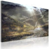 Schilderij - The land of mists-1