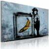 Schilderij - Inspired by Banksy-1