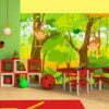 Fotobehang - jungle - monkeys-1