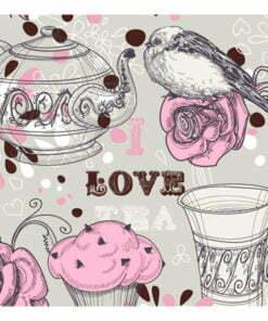 Fotobehang - Afternoon tea-2