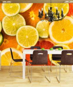 Fotobehang - Citrus fruits-1