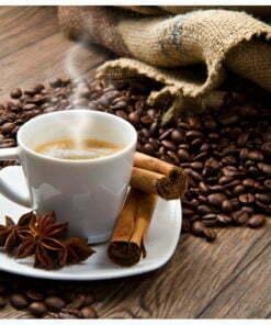 Fotobehang - Star anise coffee-2