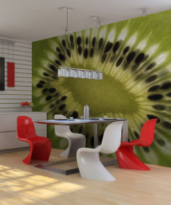 Fotobehang - fruit: kiwi-1