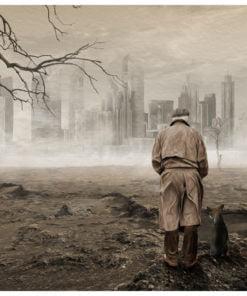 Fotobehang - Ghost's city-2
