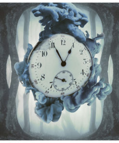 Fotobehang - Surrealism of time-2