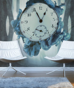 Fotobehang - Surrealism of time-1