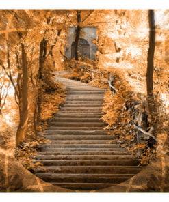 Fotobehang - Stairs to paradise-2