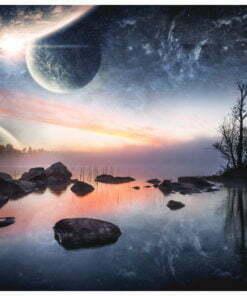 Fotobehang - Kosmisch landschap-2