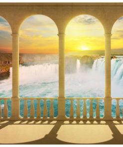 Fotobehang - Dream about Niagara Falls-2