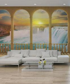 Fotobehang - Dream about Niagara Falls-1