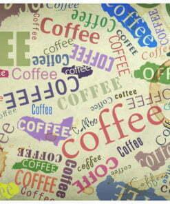Fotobehang - The fragrance of coffee-2