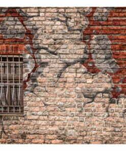 Fotobehang - Break the wall-2