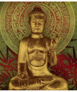 Fotobehang - Golden Buddha-2