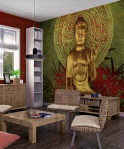 Fotobehang - Golden Buddha-1