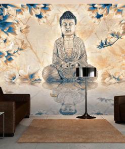 Fotobehang - Buddha of prosperity-1
