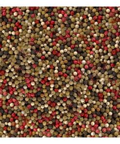 Fotobehang - Mozaïek van gekleurde peper-2