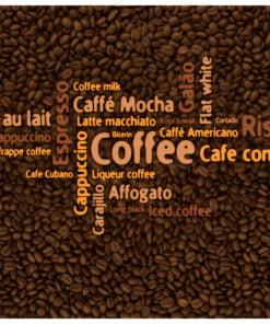 Fotobehang - Latte, espresso, cappucino...-2