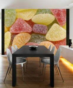 Fotobehang - Smakelijke vruchtengelei-1