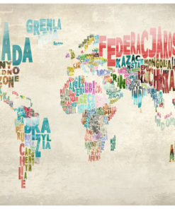 Fotobehang - Een wereld zonder grenzen-2