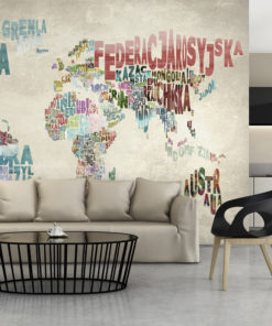 Fotobehang - Een wereld zonder grenzen-1