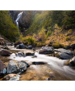Fotobehang - Ohakune - Waterfalls in New Zealand-2
