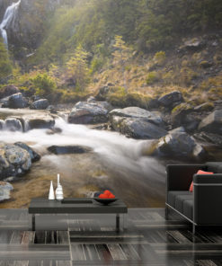 Fotobehang - Ohakune - Waterfalls in New Zealand-1