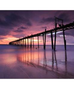 Fotobehang - Houten pier-2