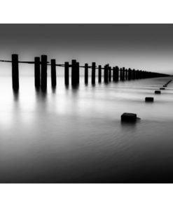 Fotobehang - Thames Estuary in Shoeburyness, Engeland-2