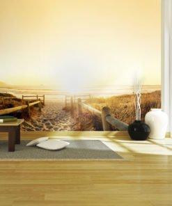 Fotobehang - In de richting van de zon ...-1