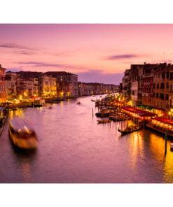 Fotobehang - Stad van de verliefden, Venice by night-2