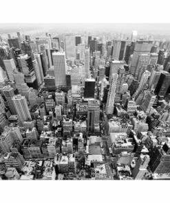 Fotobehang - USA, New York: zwart en wit-2