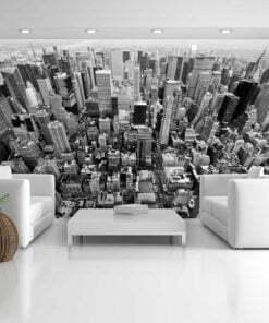 Fotobehang - USA, New York: zwart en wit-1