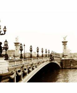 Fotobehang - Alexander III Brug, Parijs-2