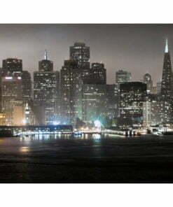 Fotobehang - San Francisco by night-2