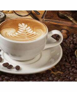Fotobehang - Misschien koffie?-2