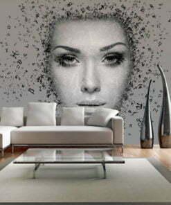 Fotobehang - Instroom van gedachten-1