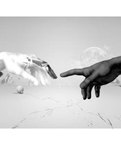 Fotobehang - Intergalactic touch-2