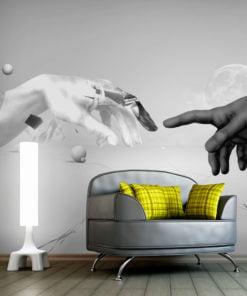 Fotobehang - Intergalactic touch-1
