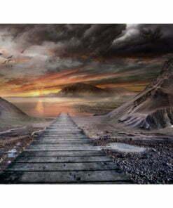 Fotobehang - Verlaten land-2