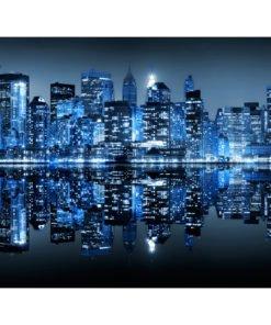 Fotobehang - Ocean of lights - NYC-2