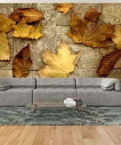 Fotobehang - Voorbode van de herfst-1
