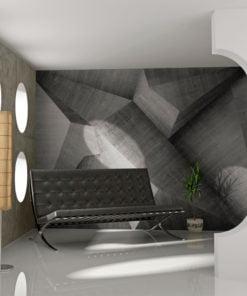 Fotobehang - Abstract betonblokken-1